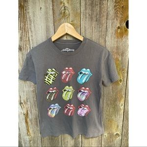 THE ROLLING STONES graphic tongue tshirt size XS